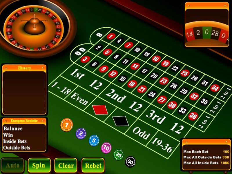 Click to view American Roulette 2.1 screenshot